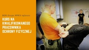 Kurs na kwalifikowanego pracownika ochrony fizycznej