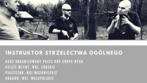 kurs instrutor strzelectwa